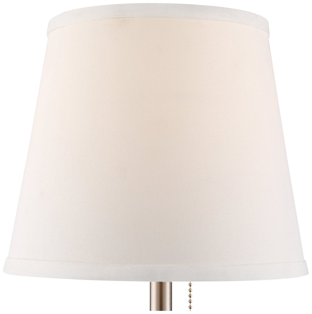 Flesner Brushed Steel 20''H Accent Table Lamp with USB Port by 360 Lighting (Image #3)