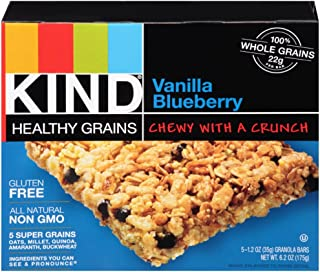 product image for Kind Healthy Grains Bar, Vanilla Blueberry, 5 Bars (Pack of 8)