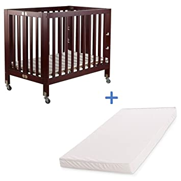 Amazon.com : Fizzy Baby Modern Portable Crib & Mattress ...