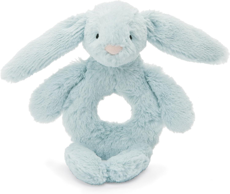 Jellycat Bashful Unicorn Plush Baby Ring Rattle