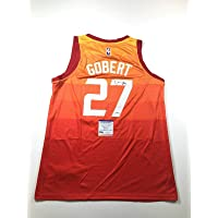 $259 » Rudy Gobert Signed Jersey - PSA/DNA Certified - Autographed NBA Jerseys