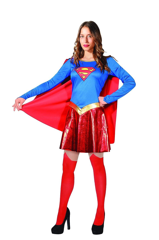Ciao Supergirl Costume Donna Originale DC Comics (Taglia S ...