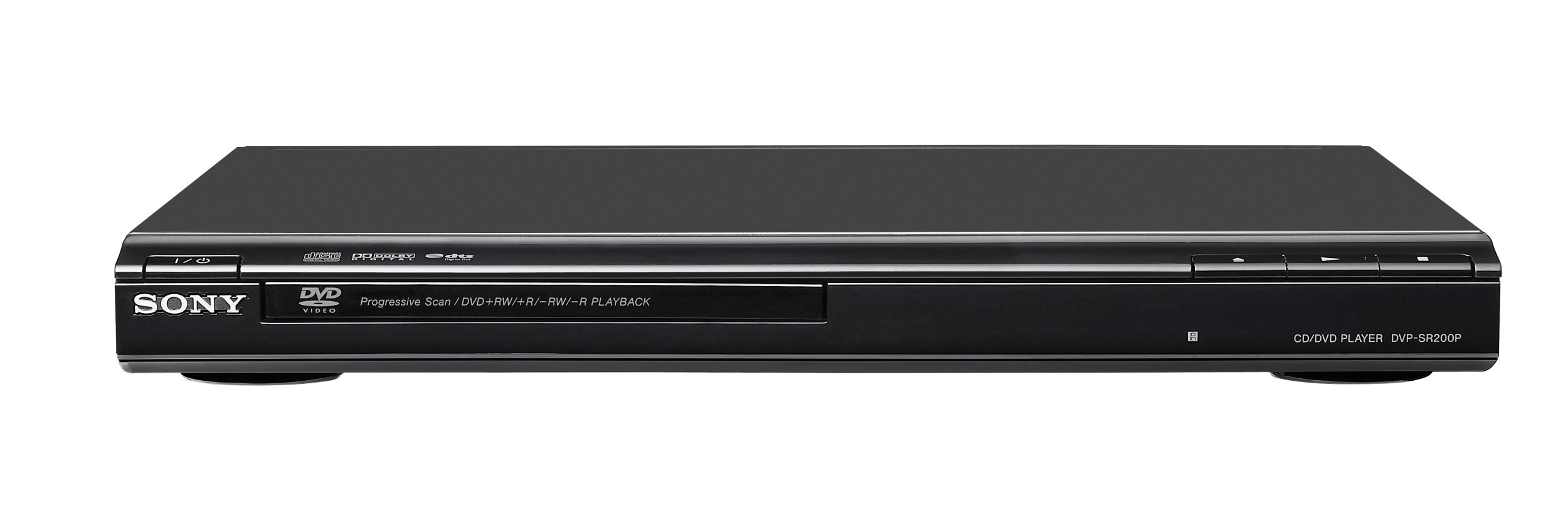 Sony DVP-SR200P/B DVD Player, Black