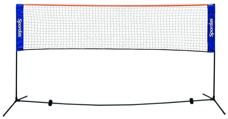 Spordas m561430Unisex Adult Badminton Net, Blue SPP1E|#Spordas