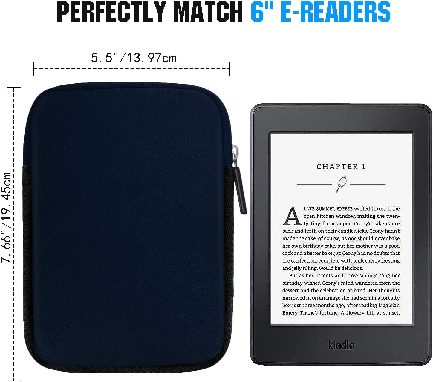 MoKo Kindle Funda de Fieltro para All-New Kindle Voyage/Kindle ...
