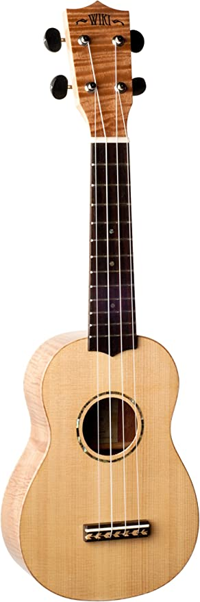 Wiki UK211S - Ukelele soprano serie caoba: Amazon.es ...