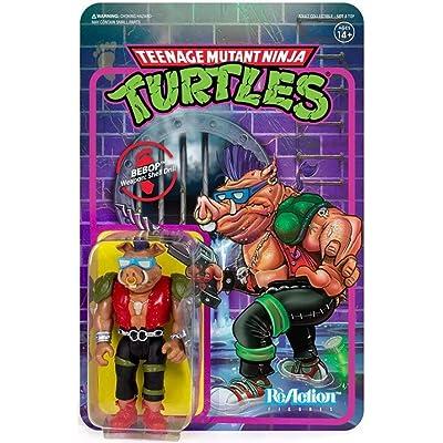 SUPER7 TMNTW01-BEB-02 Reaction Figure: Toys & Games