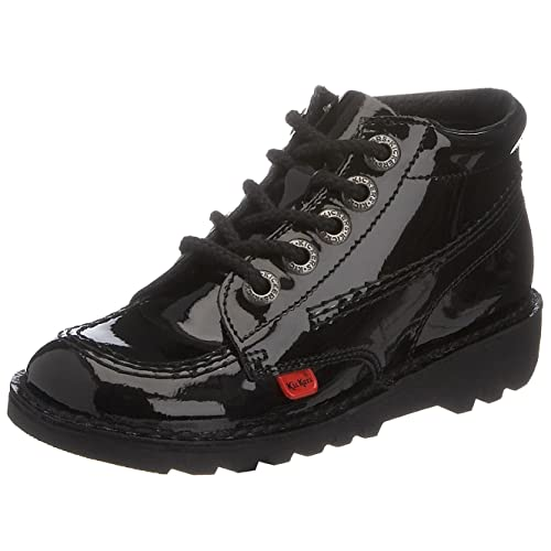 Kickers Kick Boot - Botas, color Black/Black, talla 12.5 Uk