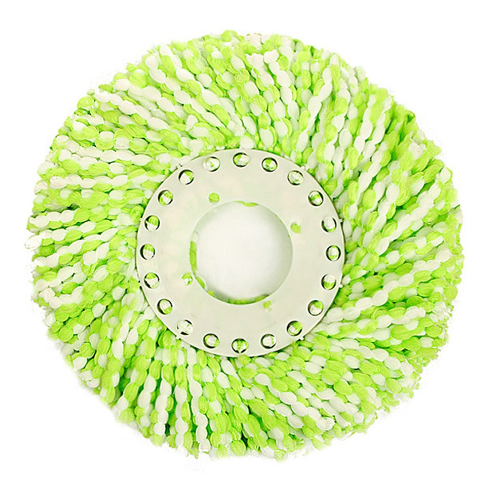 Replacement Mop Micro Head, 3 Pack Anti-abrasive Microfiber Mops Head for 360 Rotating Magic Mop(Green)