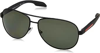 Prada Linea Rossa Sunglasses For Men, Green PS53PS DG05X162 54 mm