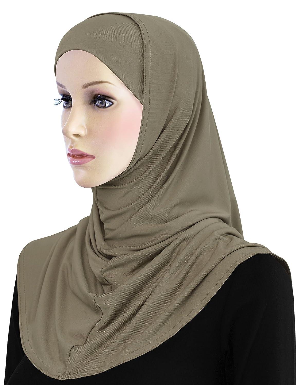 Hijab Lycra 2 piece Al Amira Hood & Tube Cap Set