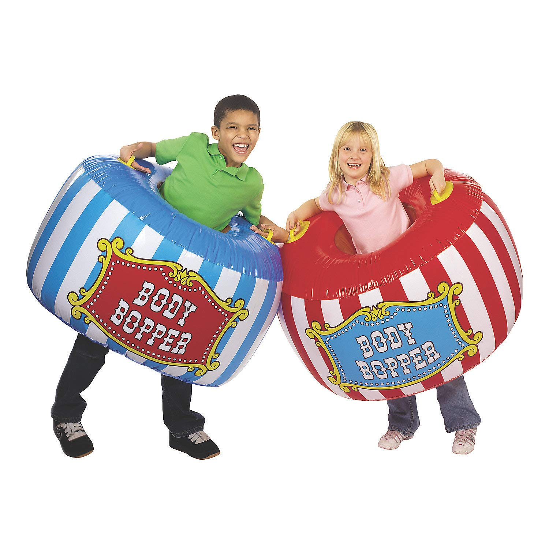 Fun Express Carnival Body Boppers (2 Piece Set) Kids Party Games by Fun Express