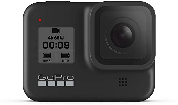 Amazon.com : GoPro HERO8 Black 4K Waterproof Action Camera - Black (Renewed) : Electronics