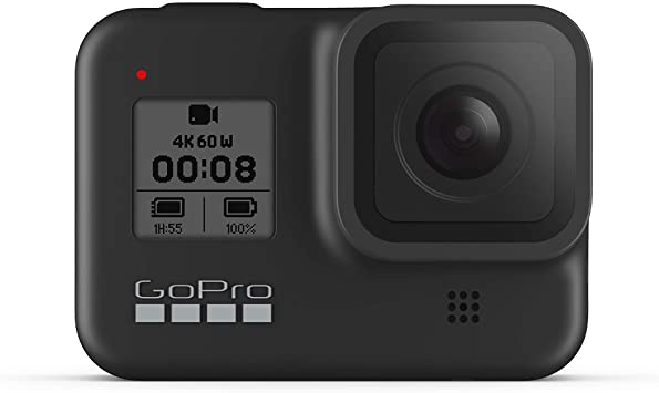 Amazon.com : GoPro HERO8 Black - Waterproof Action Camera with Touch Screen 4K Ultra HD Video 12MP Photos 1080p Live Streaming black friday cyber monday