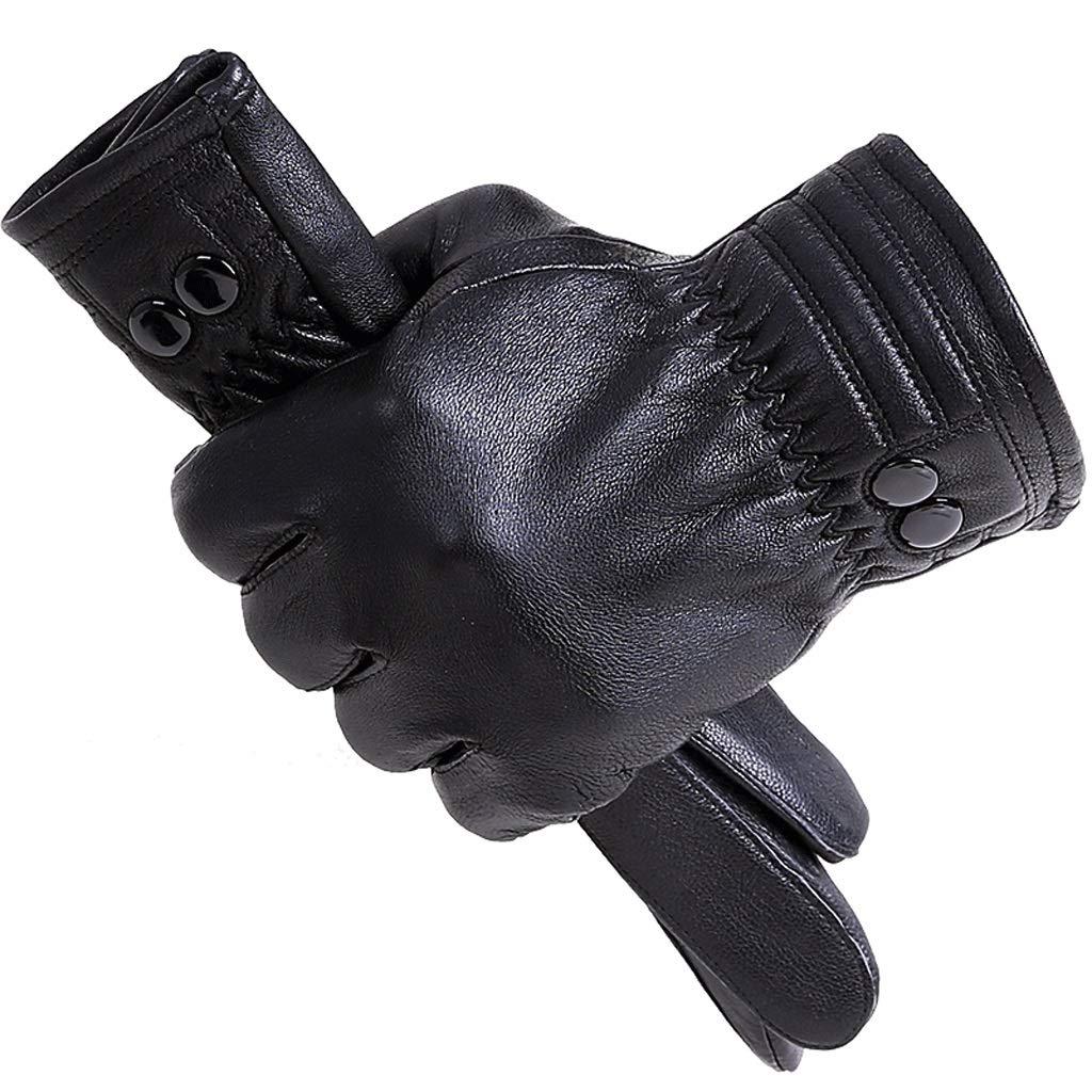 9c4dd8dd1c36e2 Jungen Bekleidung Handschuhe Leder männlich Touchscreen Winter plus Samt  Verdickung Outdoor Reiten Motorrad winddicht wasserdicht warme  Baumwollhandschuhe ...