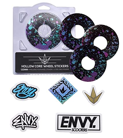 Amazon.com: Envy Splatter – Pack de pegatinas para rueda ...