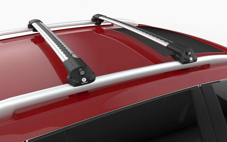 KREMER 11.WCA.07.15.V2.G Barres de Toit int/égr/ées pour Fiat 500X /à partir de 2015