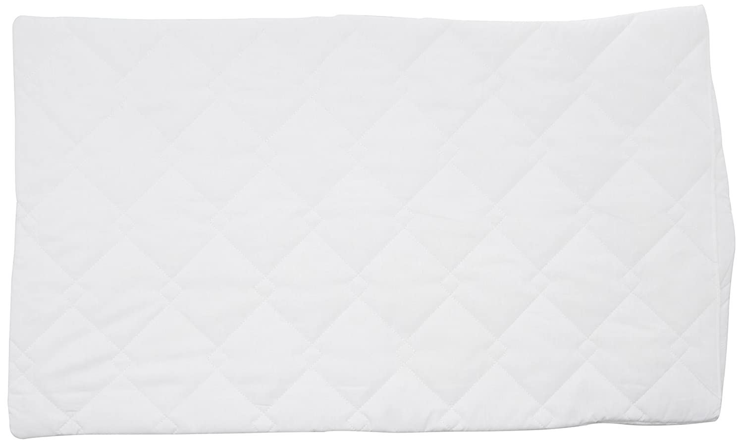 DreamEasy Quilted Pillow Protector Pair, Polyester-Cotton, Multi-Colour, 74 x 48 x 5 cm PIL003