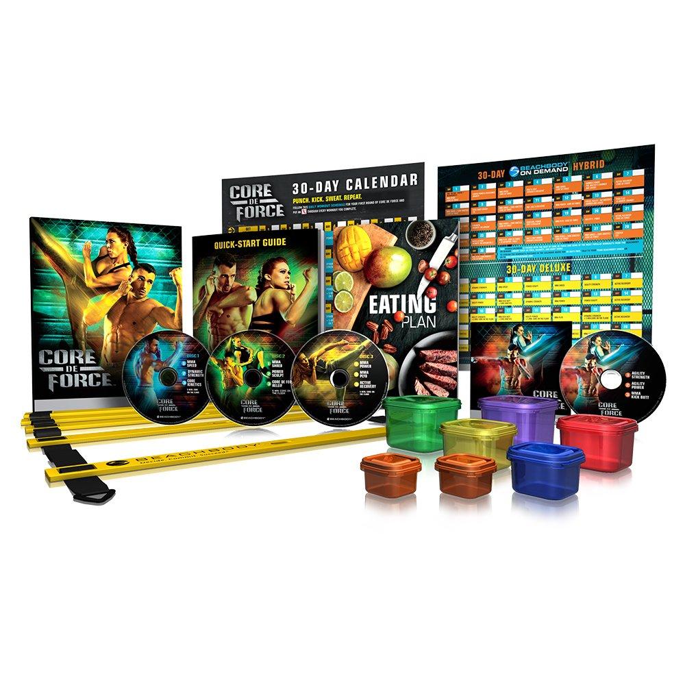 Beachbody CORE DE Force Deluxe Kit DVD Workout Program - MMA Inspired - Created