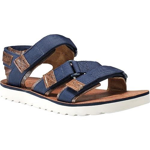 f9616797935f Timberland Pierce Point Sandals UK 9.5 Black Iris  Amazon.co.uk  Shoes    Bags