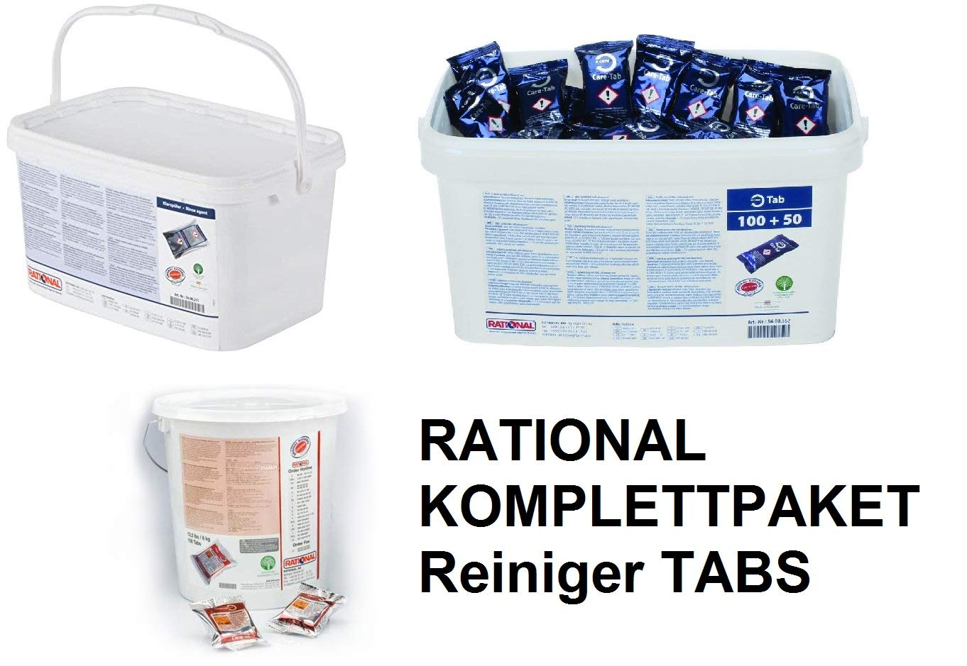 Rational 56.00.210-100 Pastillas de Limpieza de plástico TABS para ...