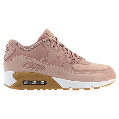 reputable site 45bd1 6724c Nike Women's Air Max 90 SE (5, Particle Pink), Running ...