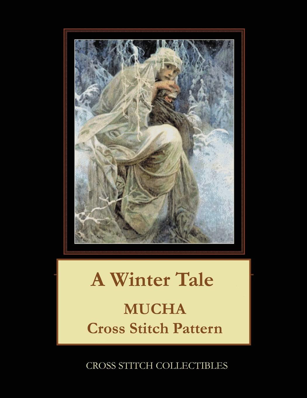 A Winter Tale  Mucha Cross Stitch Pattern