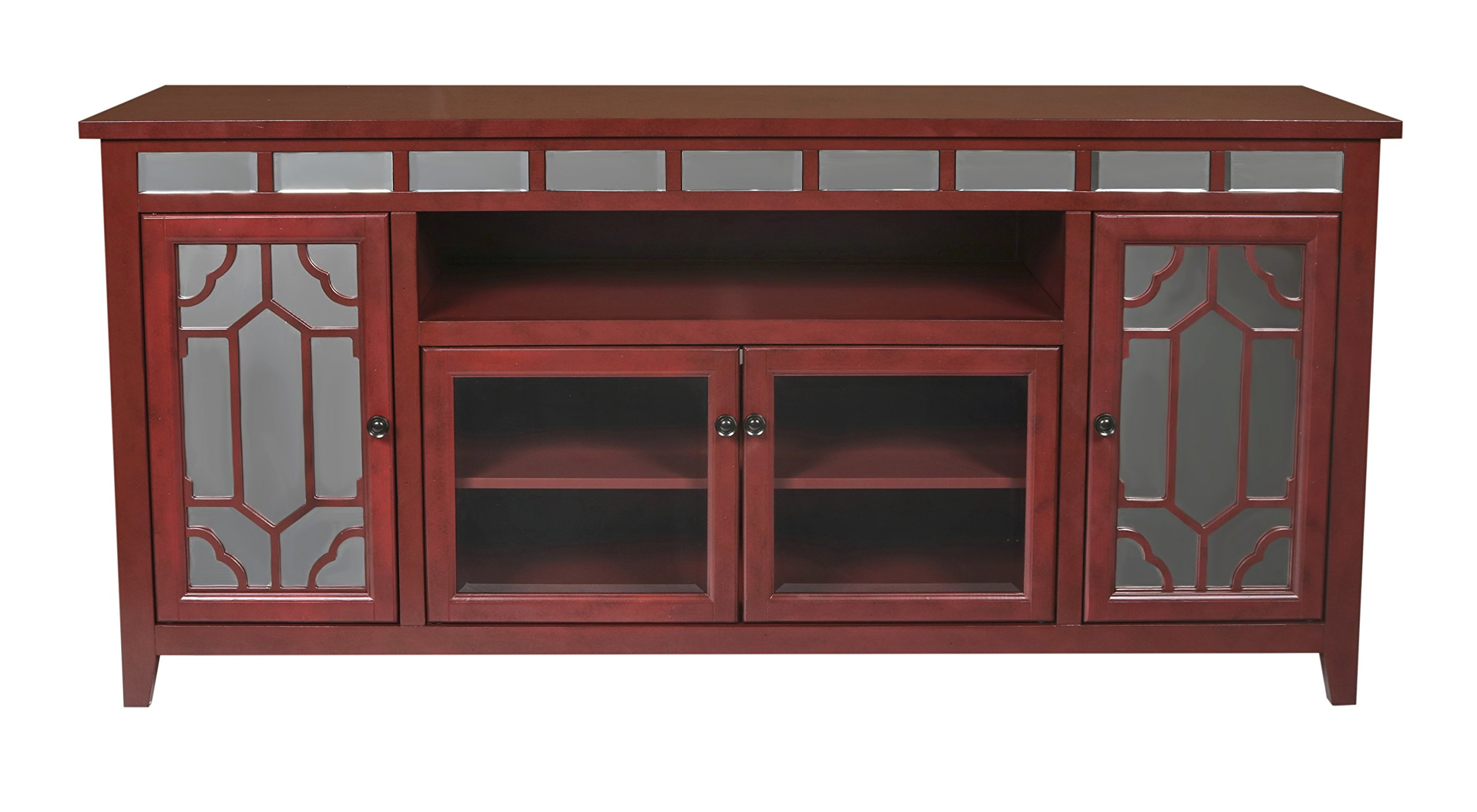 New Classic Gable End Unit, 72-Inch, Red