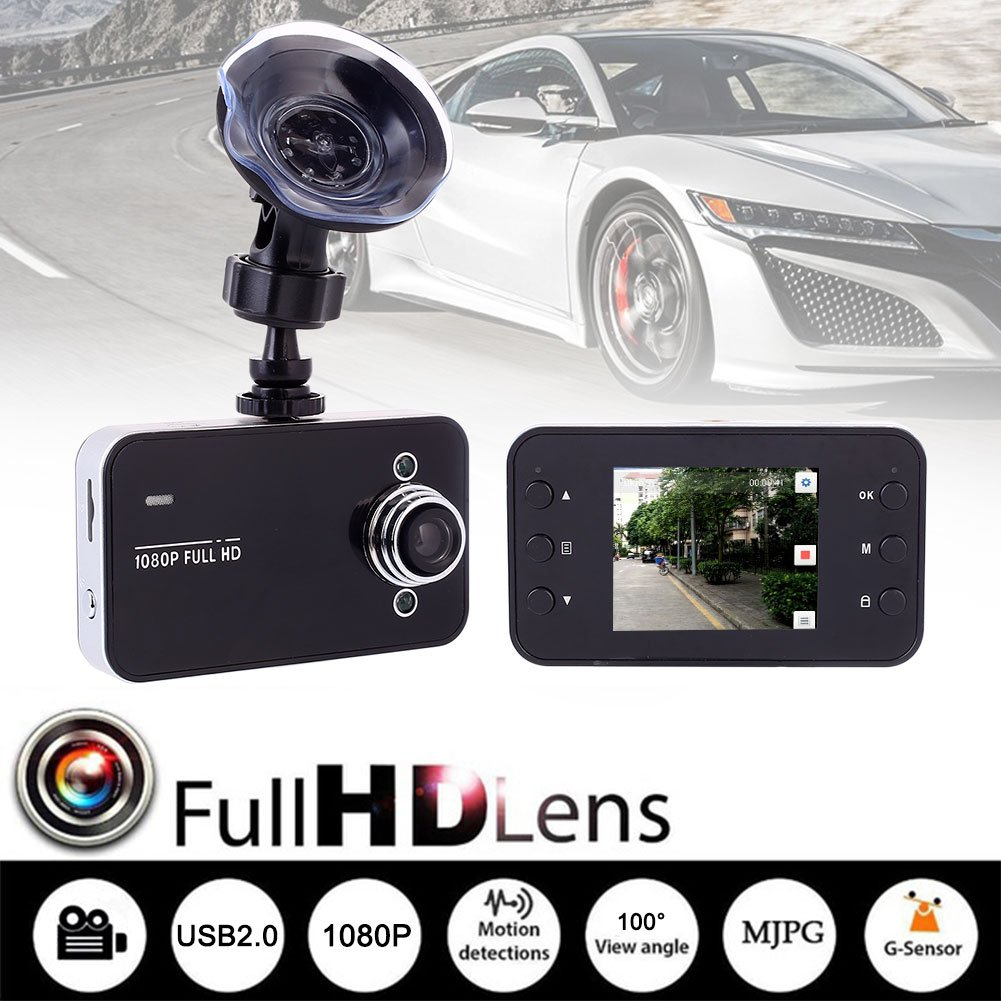 Auntwhale Video Recorder Driving Recorder Premium TFT Display HD IP Camera Loop Recording Display by Auntwhale (Image #2)