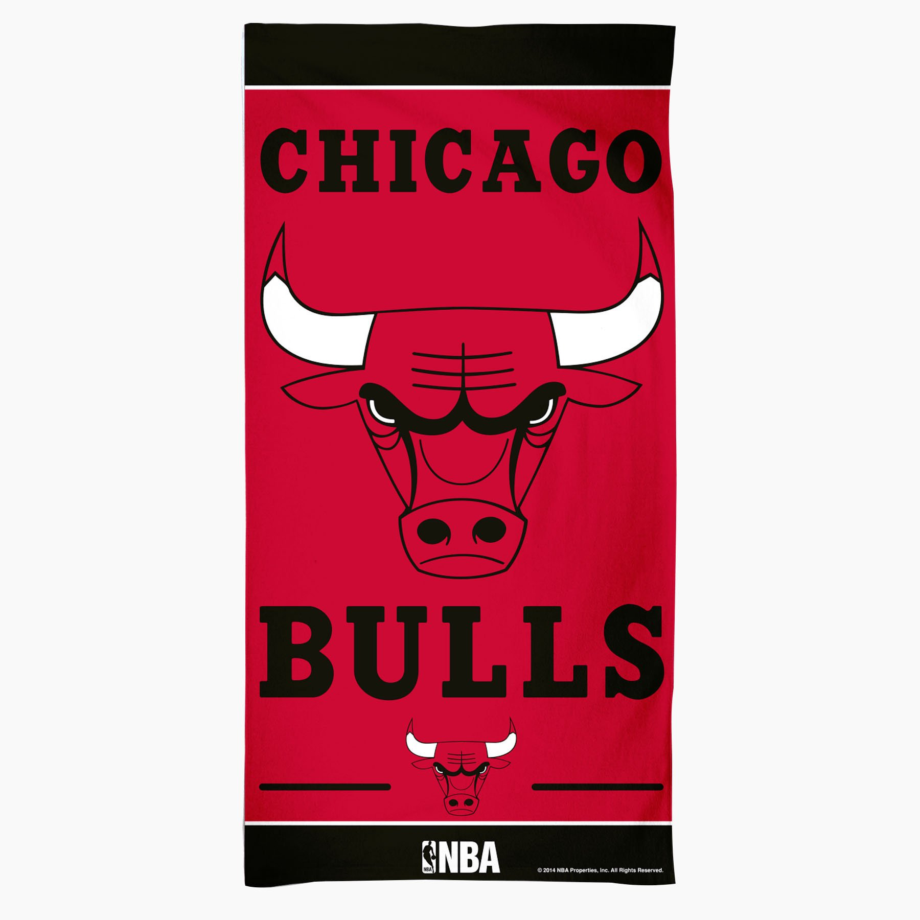 NBA Chicago Bulls Fiber Beach Towel, 30 x 60-Inch