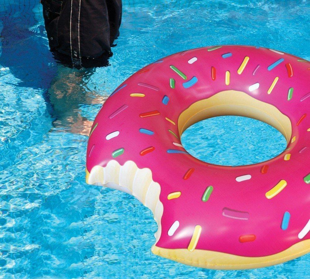 ドーナツ食べかけ浮き輪