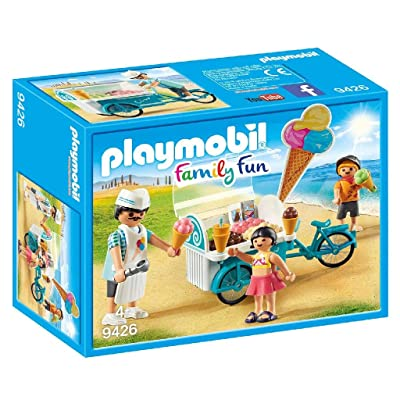 PLAYMOBIL Ice Cream Cart: Toys & Games