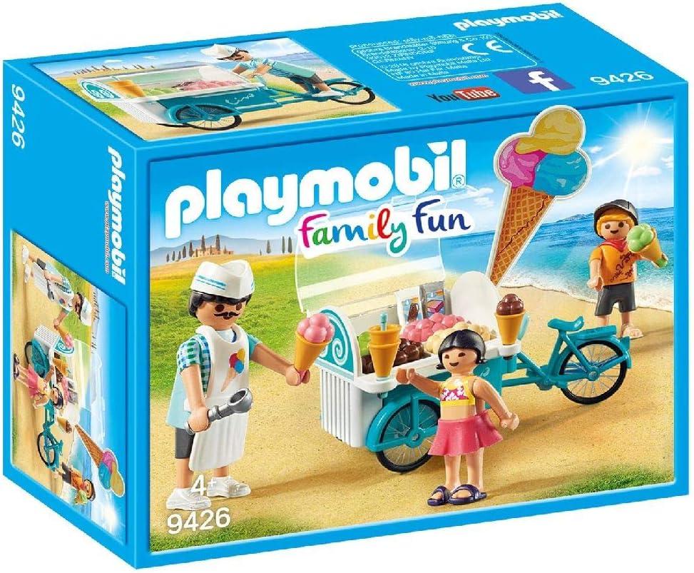 PLAYMOBIL- Carrito de Helados Juguete, Multicolor (geobra ...