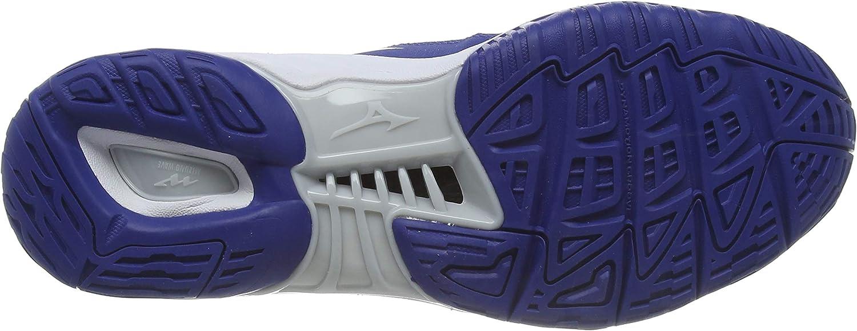 Mizuno Wave Phantom 2, Chaussures Multisport Indoor Mixte Bleu Trueblue Wht Blue 06