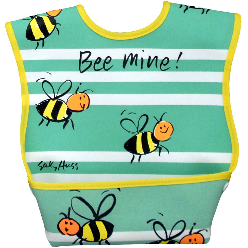 Dex Dura Bib Large for ages 6 - 24 Months - Bee Mine