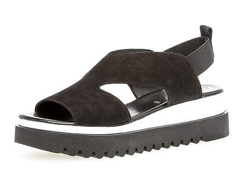 Gabor Sandalette mit raffiniertem Keilabsatz | OTTO