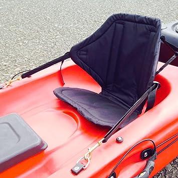 Deluxe Sitz gepolstert Kajak ergonomisch hohe Rückenlehne Kanu verstellbar