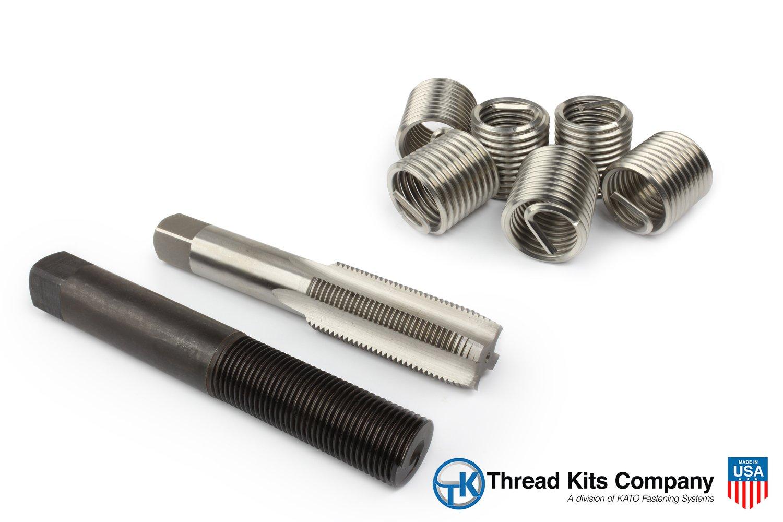 Perma Coil 3208-C14 Thread Repair Kit 7/8-9 6PC Helicoil 5521-14
