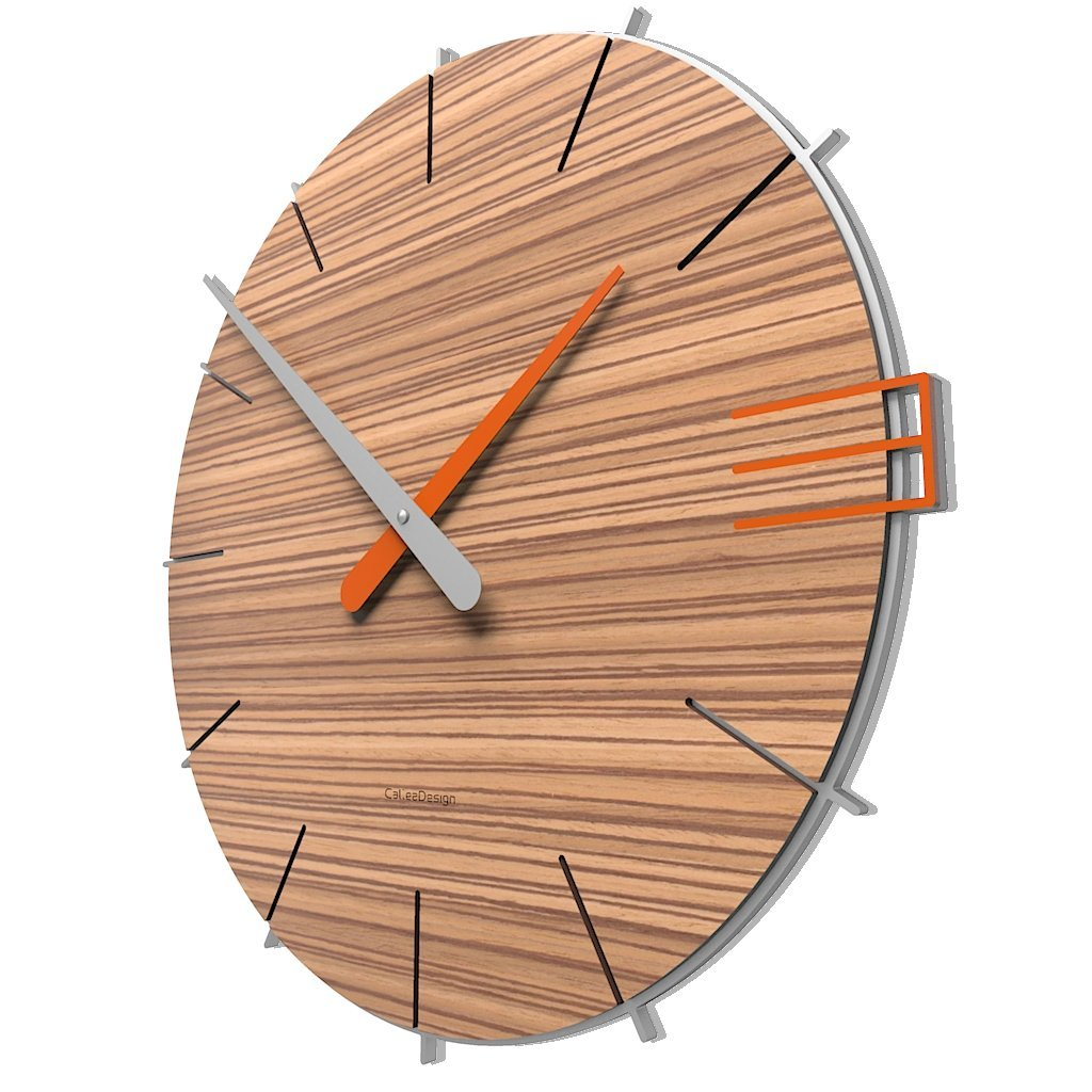 CalleaDesign 壁時計 Mike イタリアのデザイン (zingana) B01LT6GVRY zingana zingana