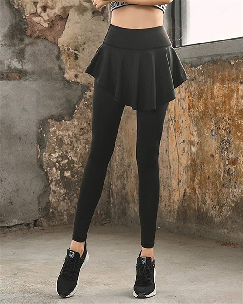 MISSMAO_FASHION2019 Mujeres Falda Pantalon Yoga, Running, Stretch ...