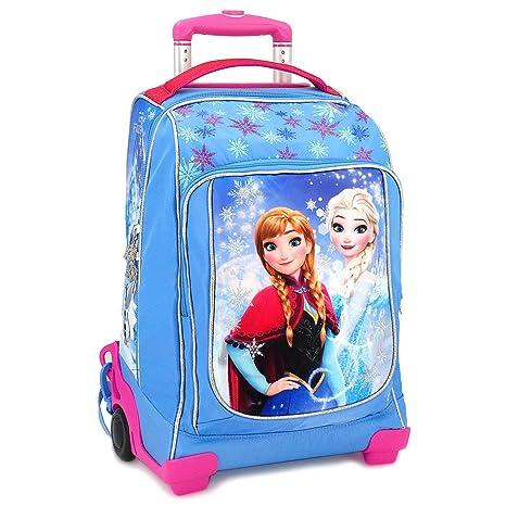 b0751a91f9 Zaino Trolley Scuola Disney Frozen Elsa e Anna: Amazon.it: Giochi e ...