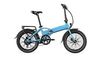 Legend eBikes Monza 36V10.4Ah Bicicleta Eléctrica Plegable, Unisex Adulto, Steel Blue,