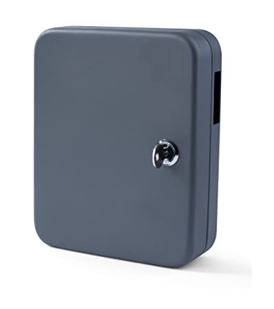 Dark Grey PAVO 8027064 Key Cabinet for 140 Keys