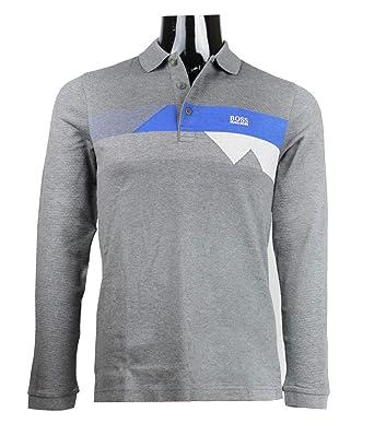 ca97a2a99 Amazon.com: Hugo Boss Long Sleeve Polo Pleesy 1 Slim fit 50373286 ...
