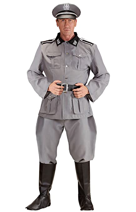 Mens German Soldier Costume Small Uk 38/40u0026quot; For Military Army War Fancy Dress  sc 1 st  Amazon.com & Amazon.com: Mens German Soldier Costume Small Uk 38/40