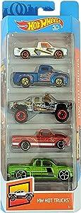 Hot Wheels 2018 50th Anniversary HW Hot Trucks 5-Pack