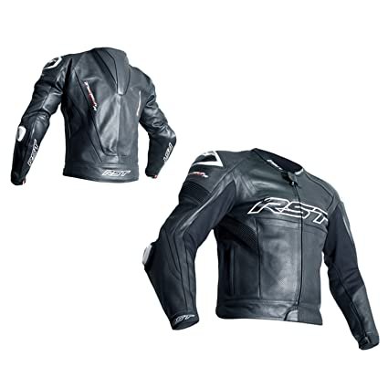 RST 2049 Tractech Evo R CE Leather Racing Sports Motorcycle Jacket - Black 56