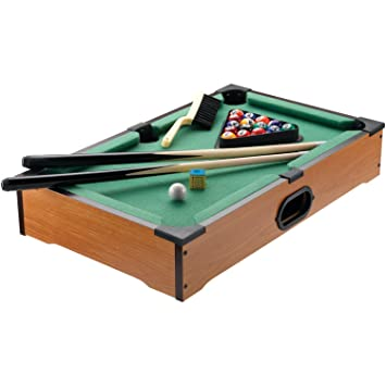 Amazon.com : Style Asia GM7451 Tabletop Pool Game Set : Sports ...
