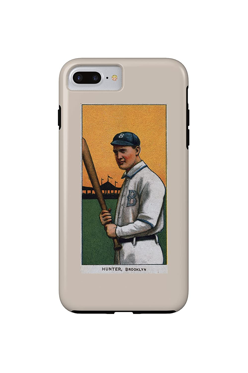 Amazon.com: Brooklyn Superbas - George Hunter - Baseball Card (iPhone 7 Plus Cell Phone Case, Slim Barely There): Cell Phones & Accessories