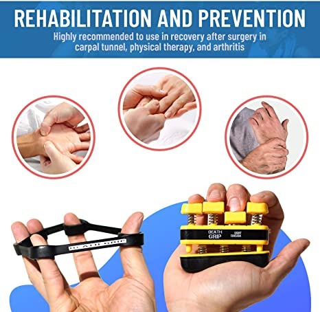 Fit Heavy Grip Wrist Rehabilitation Developer Hand Strength D4E4 newm Kit T0Z3